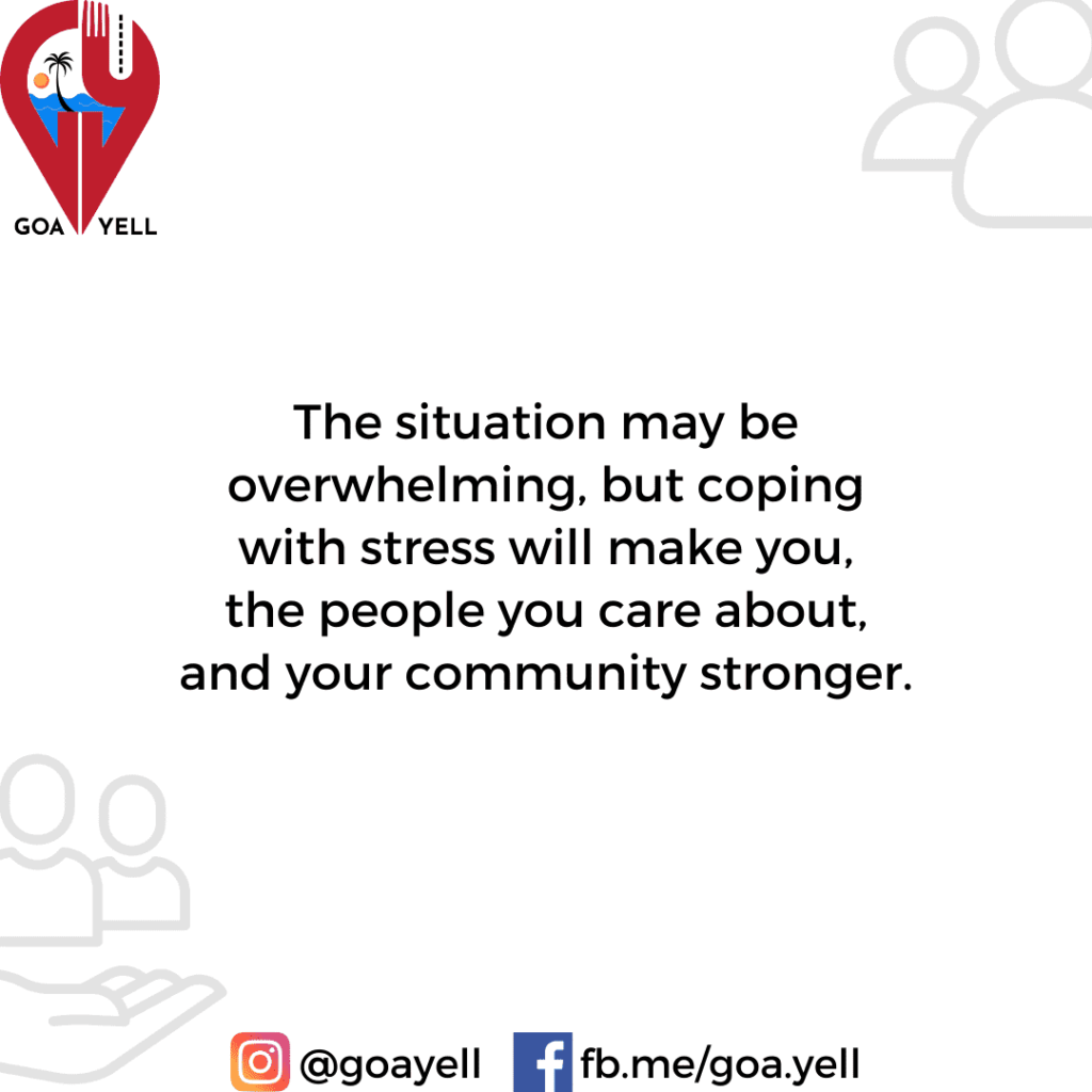 MANAGING COVID-19 STRESS. Tips on looking after yourself (6)